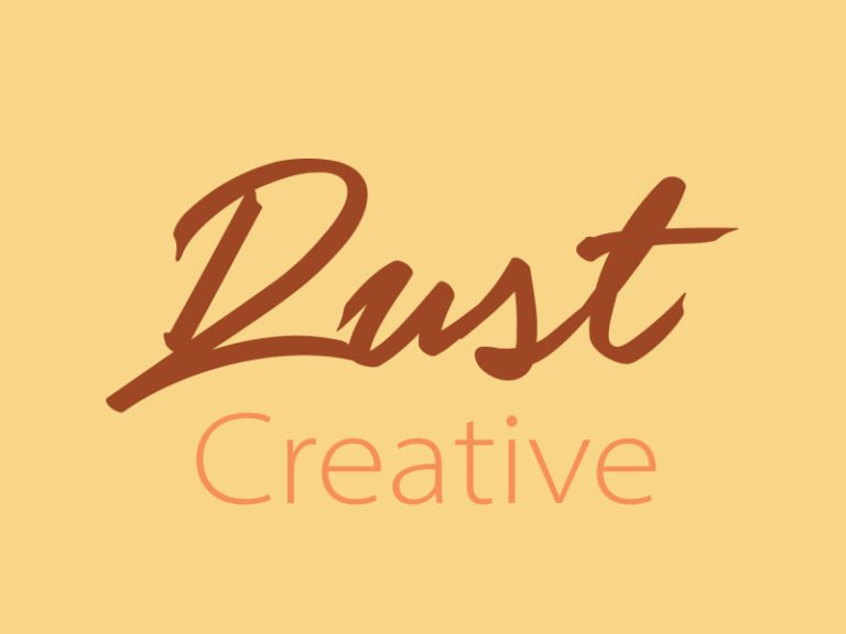 Rust-Creative Copywriting and social media -logo