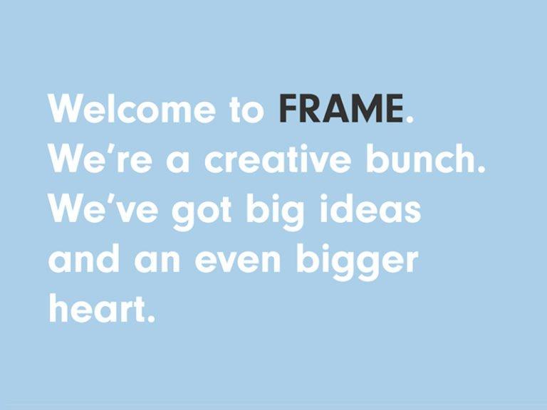 WelcometoFRAME